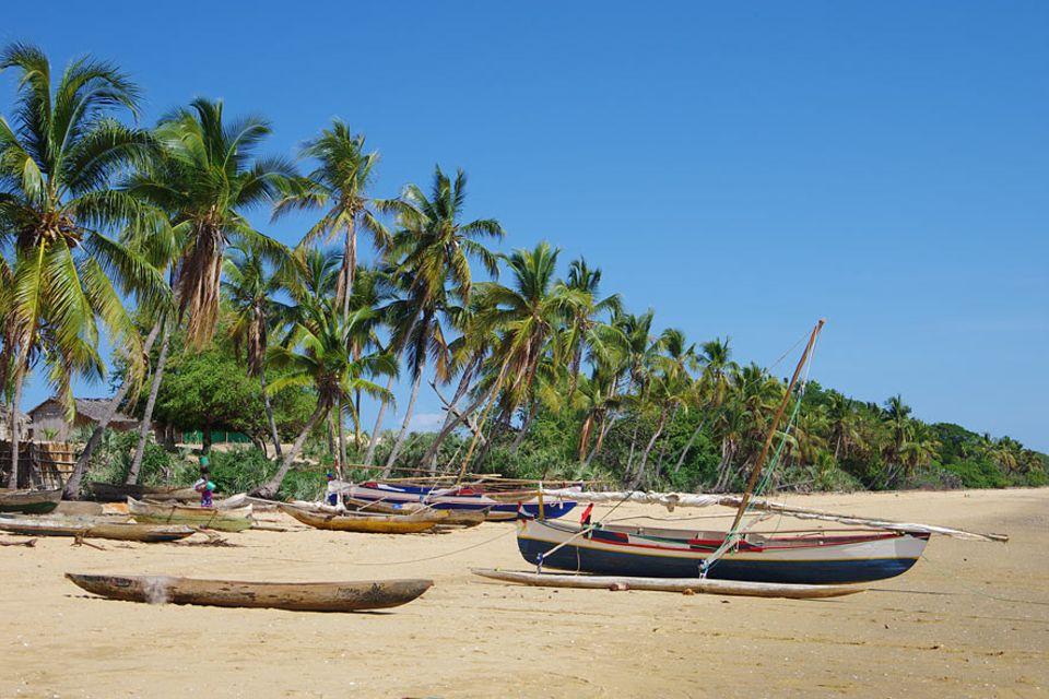 Das Fischerdorf Baly Bay im Westen Madagaskars