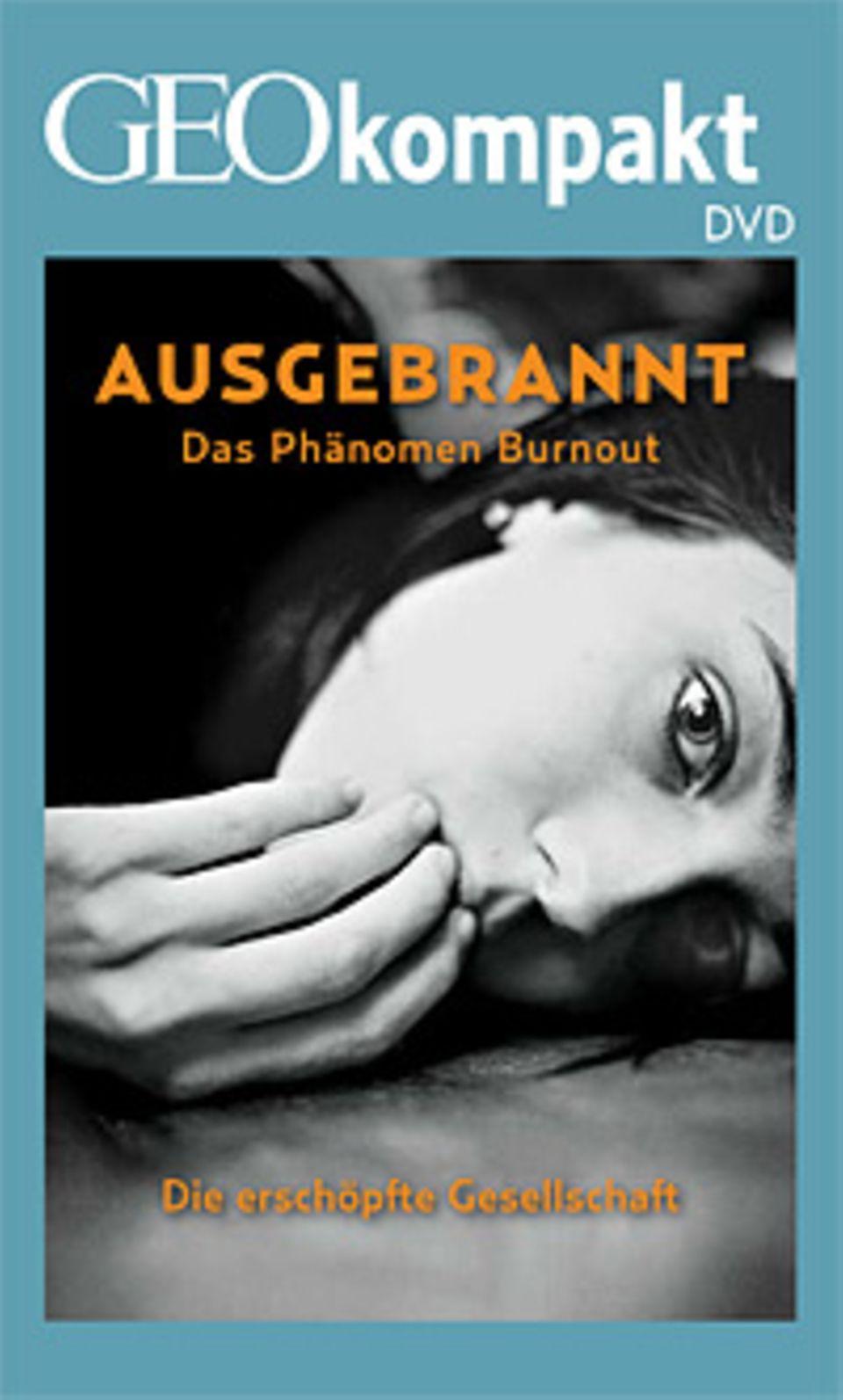 """Burnout: GEOkompakt Nr. 40 """"Wege aus dem Stress"""" ist auch mit DVD erhältlich"""