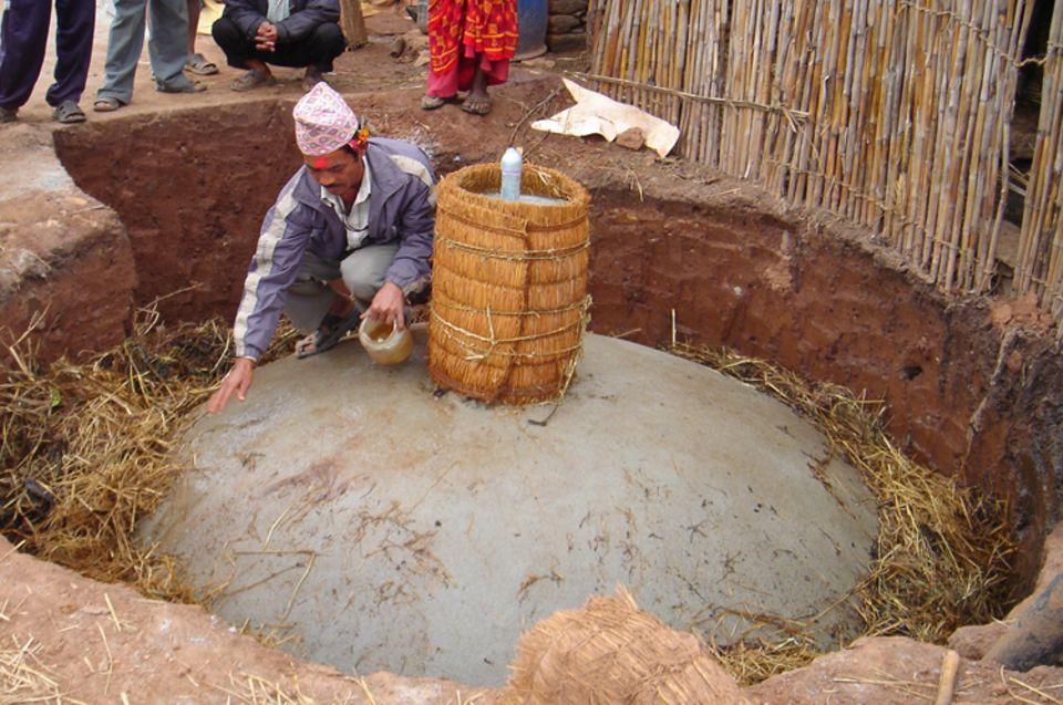 Energieversorgung aus regenerativen Quellen (Haushaltsbiogasanlagen und Mikrowasserkraftwerke)