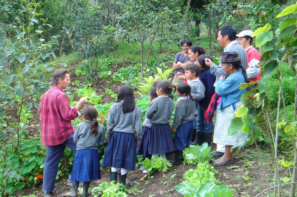 """Förderung von umweltverträglicher Landwirtschaft (""""best practices"""")"""