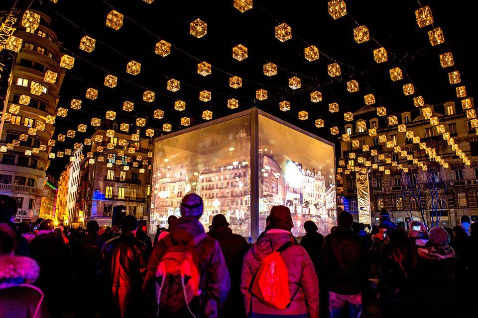 Lyon: Ausflug zum Lichterfest