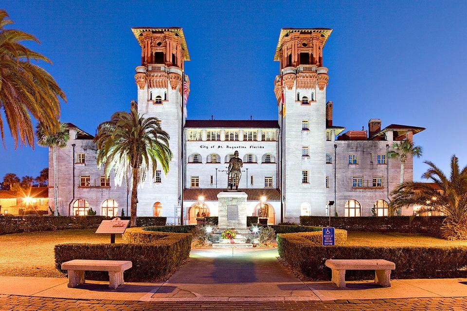 Florida: St. Augustine: Die patriotische Küste