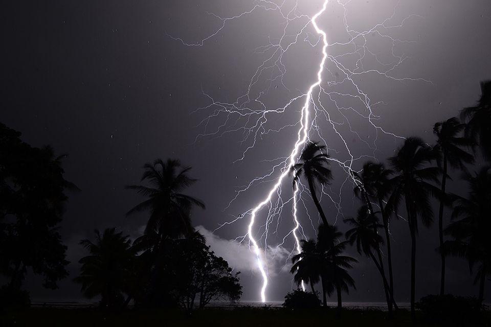 Blitz über dem Maracaibo-See