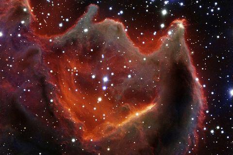 """Astronomie: Beeindruckende Aufnahme der """"Hand Gottes"""""""
