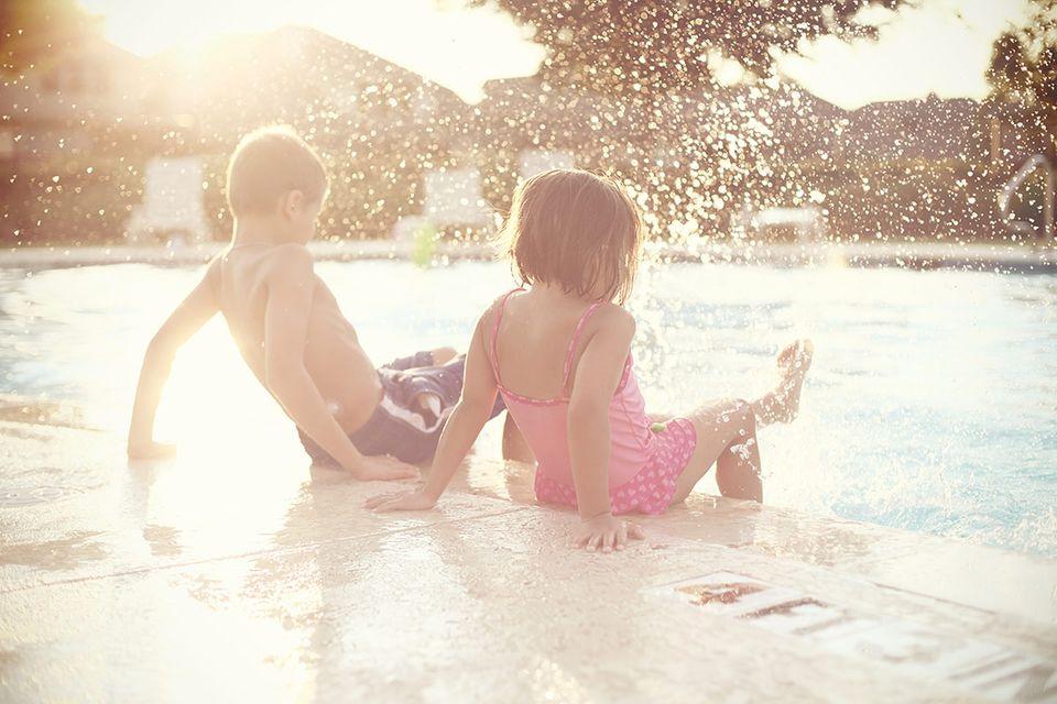 Risiko im Badeurlaub: Hotelpools. Mit Vorsicht zu genießen
