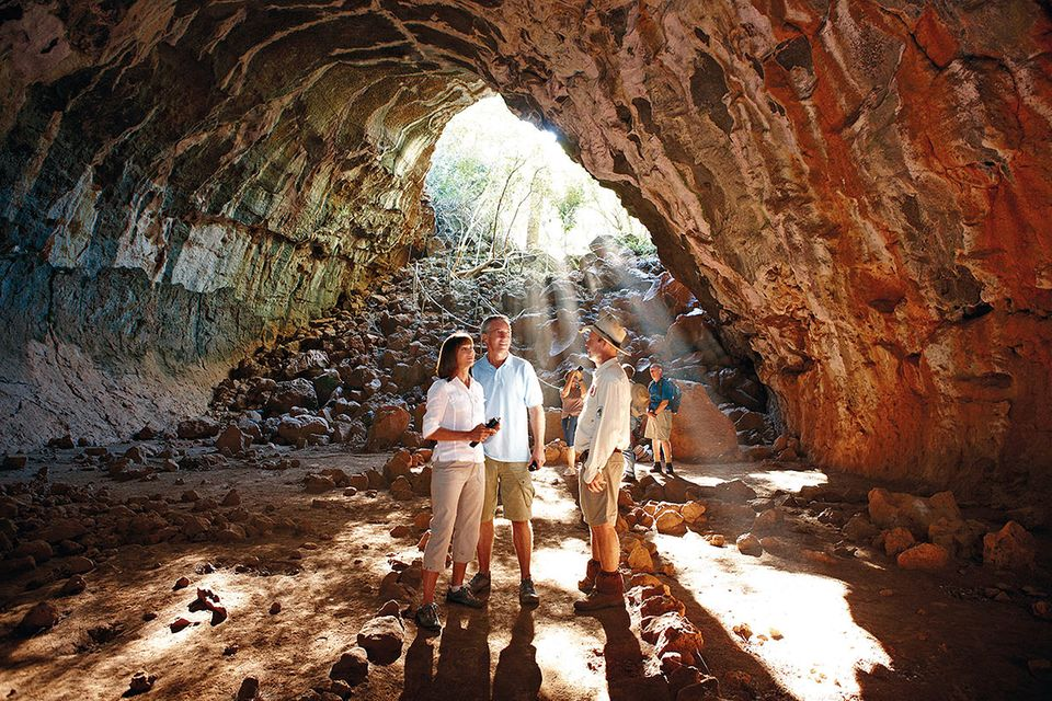 Undara: Fledermaushöhlen in der australischen Savanne