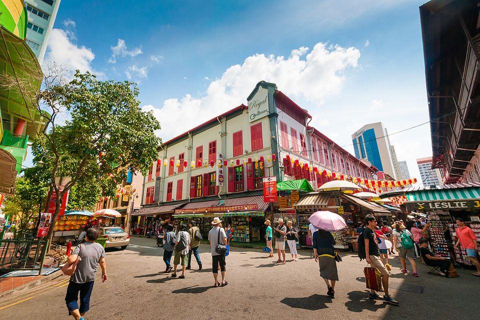 Singapur: Von Hühnerfüßen, Singlisch und Verboten