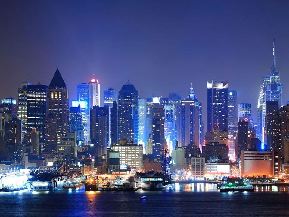 Lichtverschmutzung: Vorsicht, Blaulicht! LED-Lampen machen in Manhattan und anderswo die Nacht kaputt