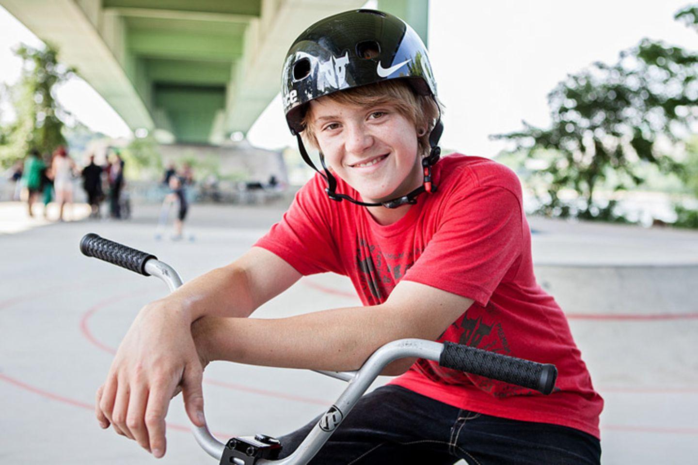 Radfahren: BMX: Sprung aufs Treppchen