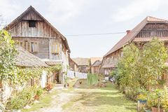 Bauernhäuser in Cigoc