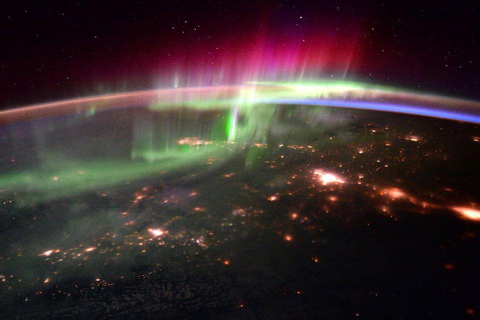 US-Astronaut Scott Kelly: Die besten Fotos aus dem All