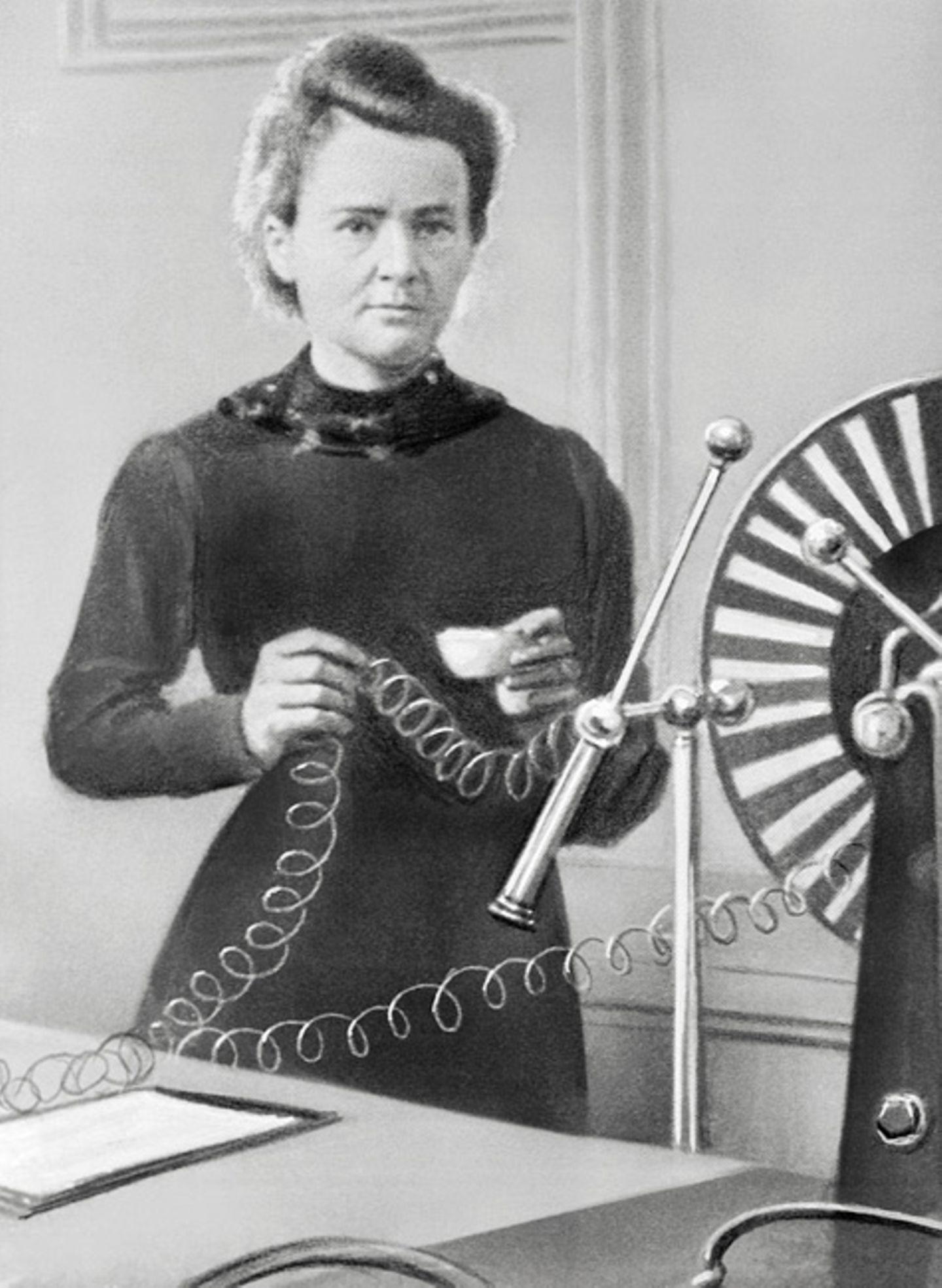 Weltveränderer: Marie Curie ist Nobelpreisträgerin für Physik und Chemie