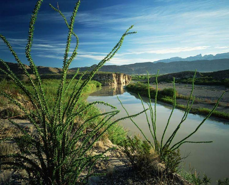 Die Schlucht des Rio Grande erlebt man am besten vom Wasser aus