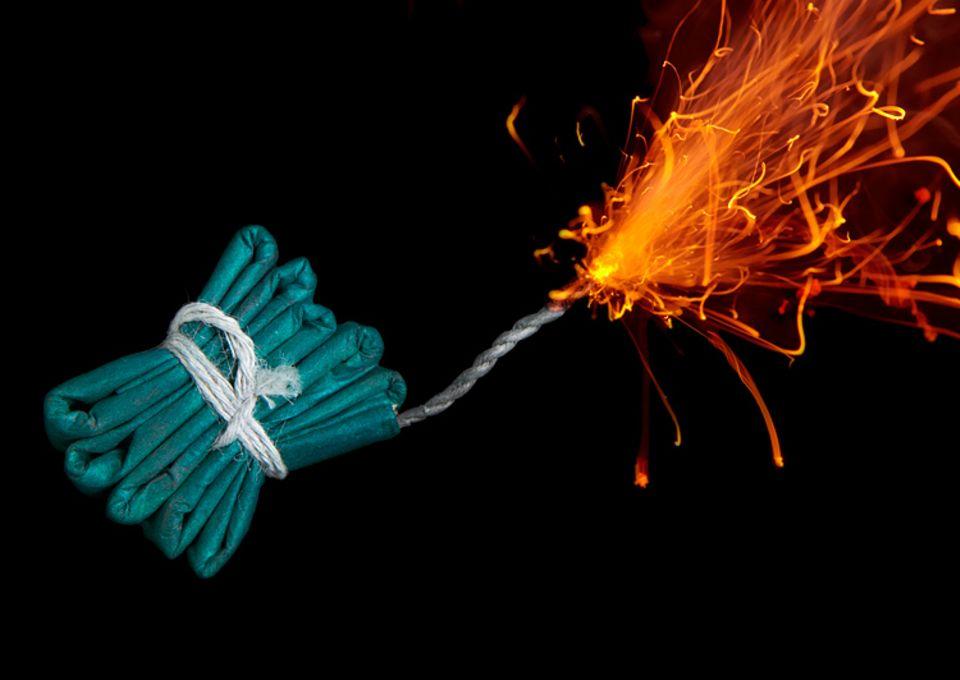 Redewendung: Wer Lunte riecht, spürt eine sich nähernde Gefahr