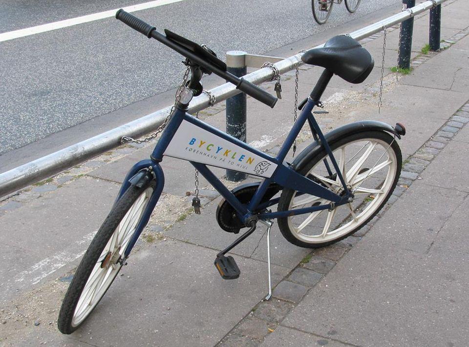 Die Stadträder wurden extra für Kopenhagen designt und sind so konzipiert, dass keines der Einzelteile mit einem anderen Rad kompatibel ist: diebstahlsicher!