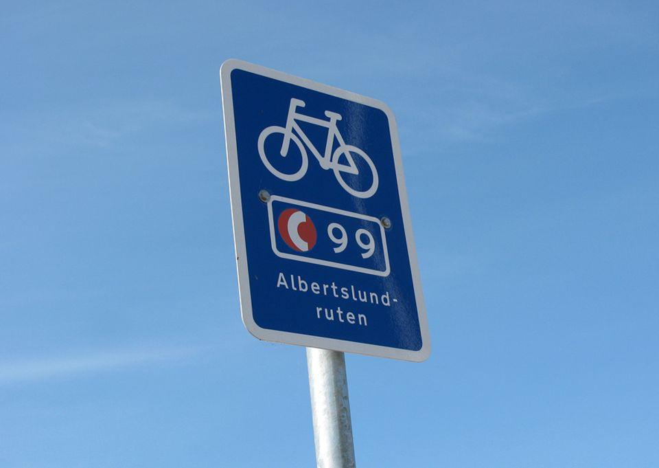 Die 17,5 Kilometer lange Albertslund Route verbindet den Bahnhof Vesterport im Zentrum Kopenhagens mit den Außenbezirken Frederiksberg, Rødovre, Glostrup und Albertslund