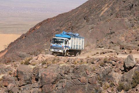 Bolivien, Lebensader Todesstrasse