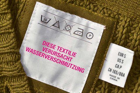 Gift in Kleidung: Toxische Textilien