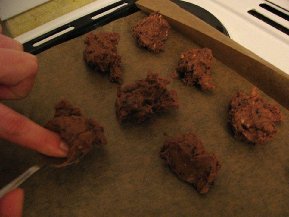 Backen: Schokocookies