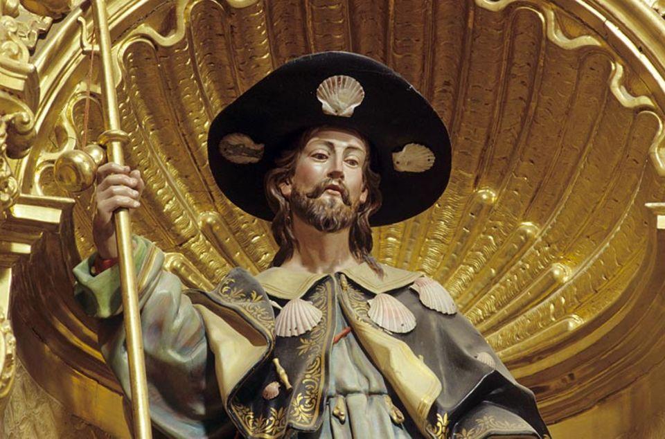 Redewendung: Der wahre Jakob soll der Legende nach in Nordspanien begraben liegen