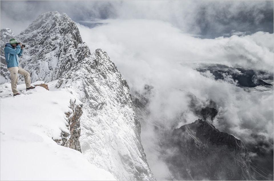Themenschwerpunkt Reisefotografie: Insbesondere im Winter haben die Berge rund um Dachstein ihren Reiz