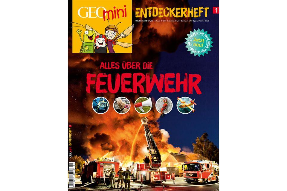GEOMINI ENTDECKERHEFT Nr. 01: GEOMINI ENTDECKERHEFT Nr. 01 - Alles über die Feuerwehr