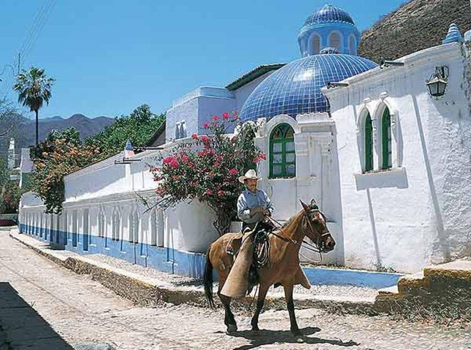 Pferde-Trekking in Mexiko