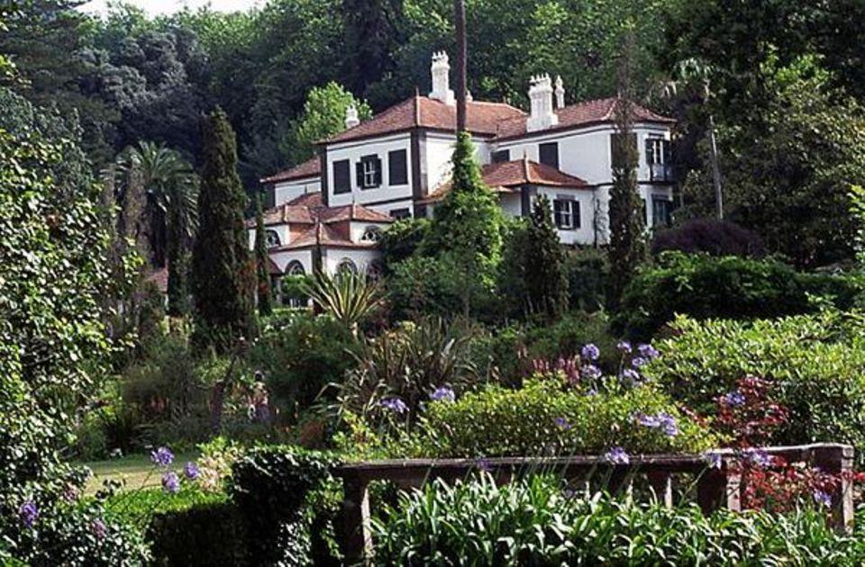 Im Blandy´s Garden befindet sich Madeiras schönstes Hotel: das Casa Velha do Palheiro