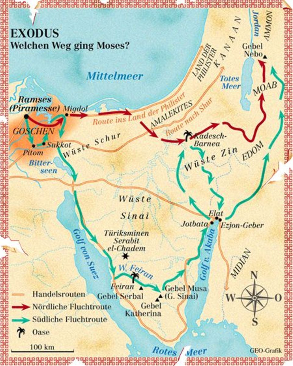Moses: Held der Bibel, Befreier Israels