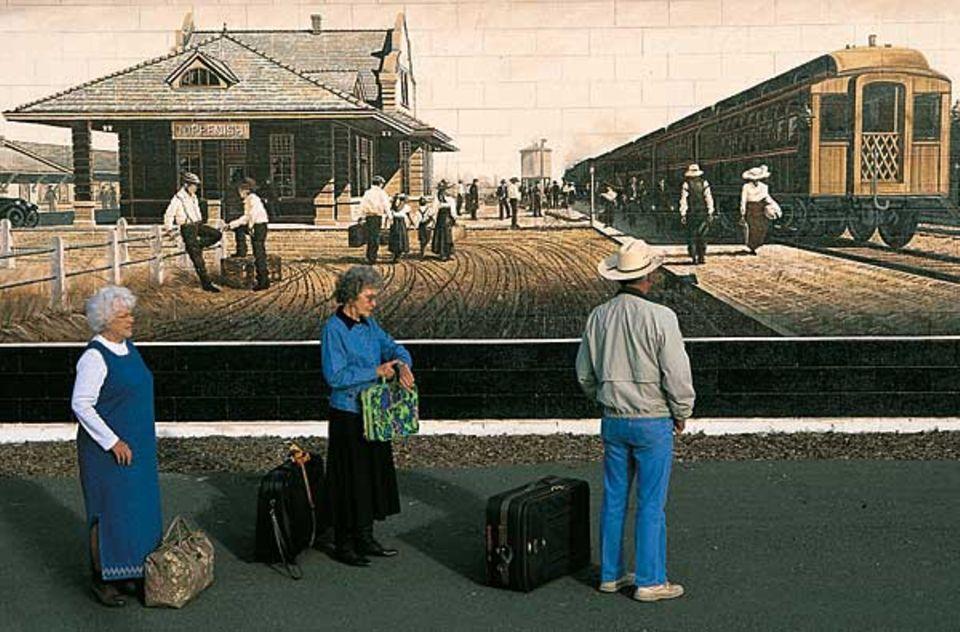 All aboard, von Bill Ross, 1998