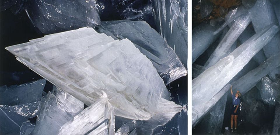 Höhlenforschung: Die größten Kristalle der Welt