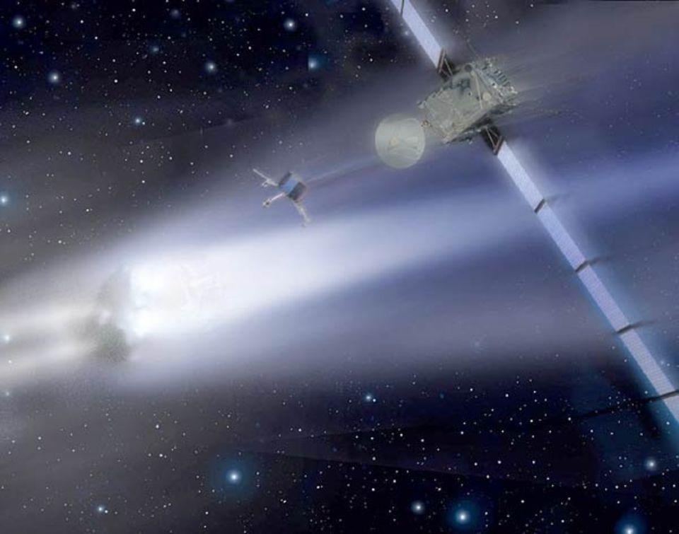 Rosetta: Rosetta kurz vor dem Blind Date