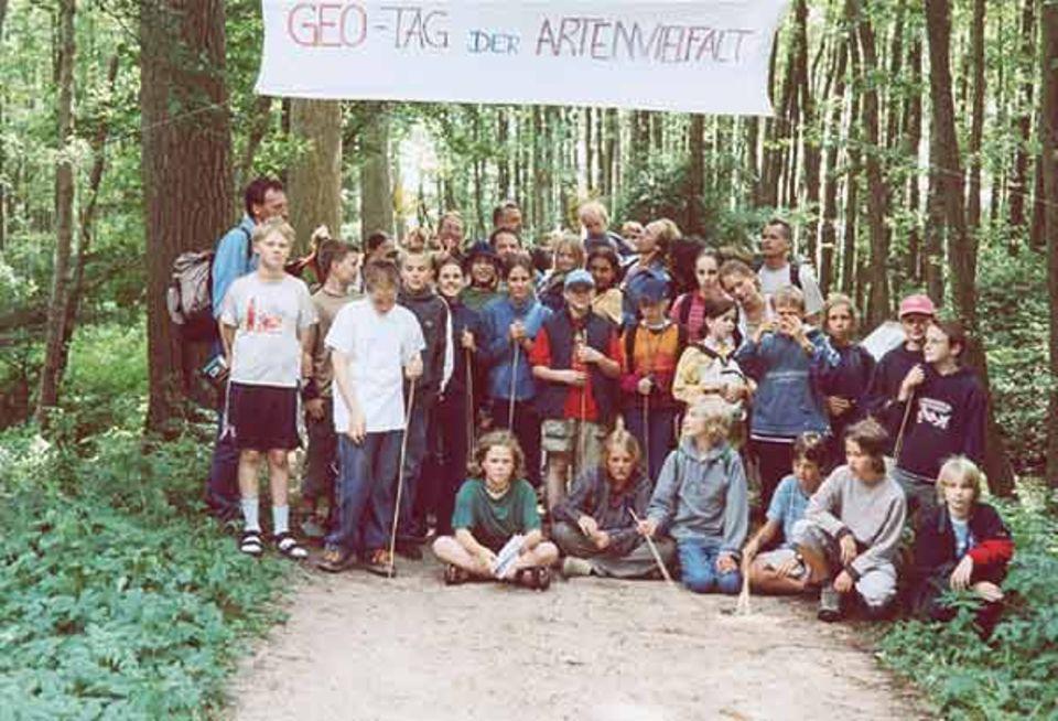 Die Schüler der Klasse 6a, freie Waldorfschule Eckernförde