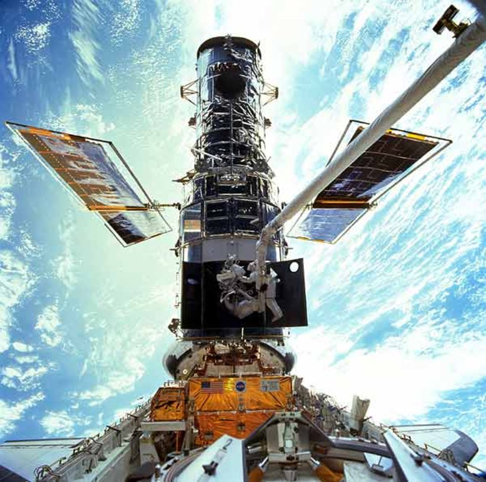 Von Hubble profitieren sowohl Amerikaner als auch Europäer