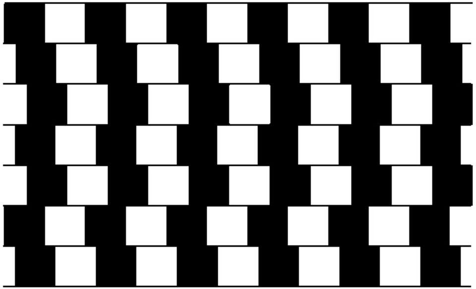 Optische Täuschungen: Kaum zu glauben, aber die Linien sind wirklich parallel
