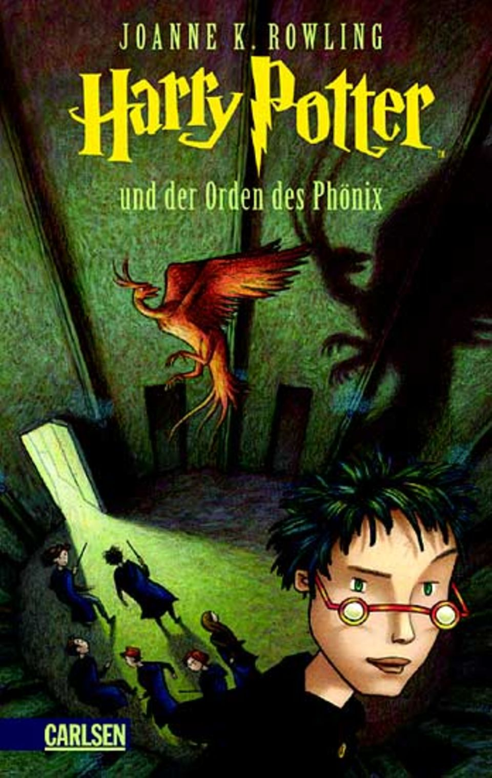 """Höchst begehrt: Die deutsche Übersetzung von JK Rowlings fünftem Band """"Harry Potter und der Orden des Phönix"""" erscheint am Samstag"""