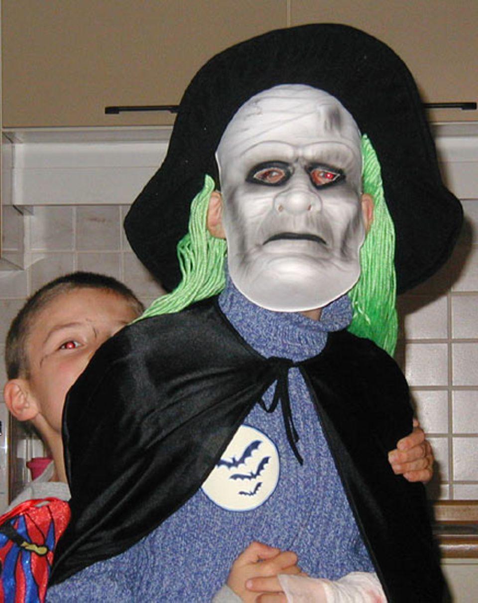 """Der Fiesling """"Lord Voldemort"""" faszinierte Alexander. Er ist 10 Jahre und kommt aus Möhnesee"""