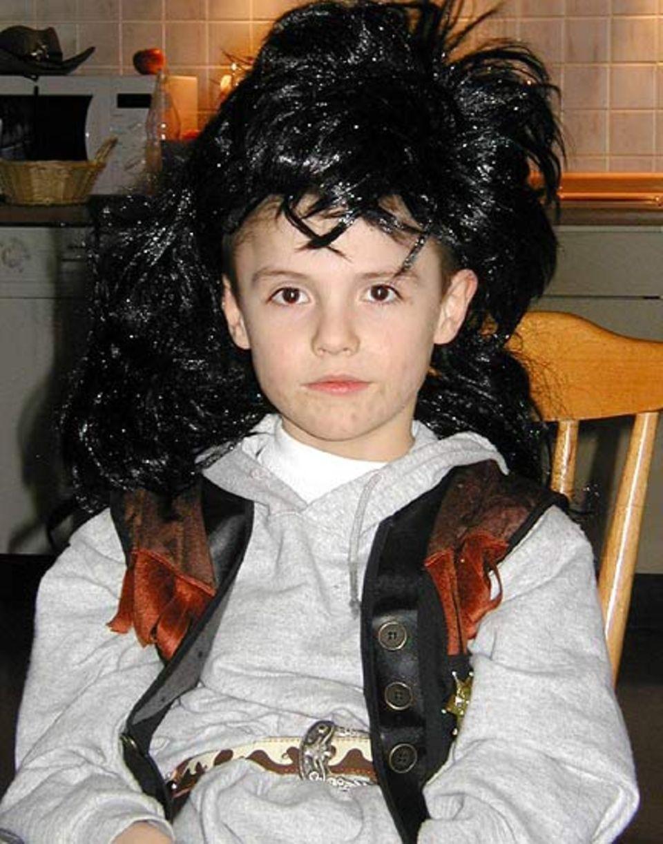 Bruder Laurenz (8) fühlte sich in der Haut von Harrys Freund Hagrid wohler