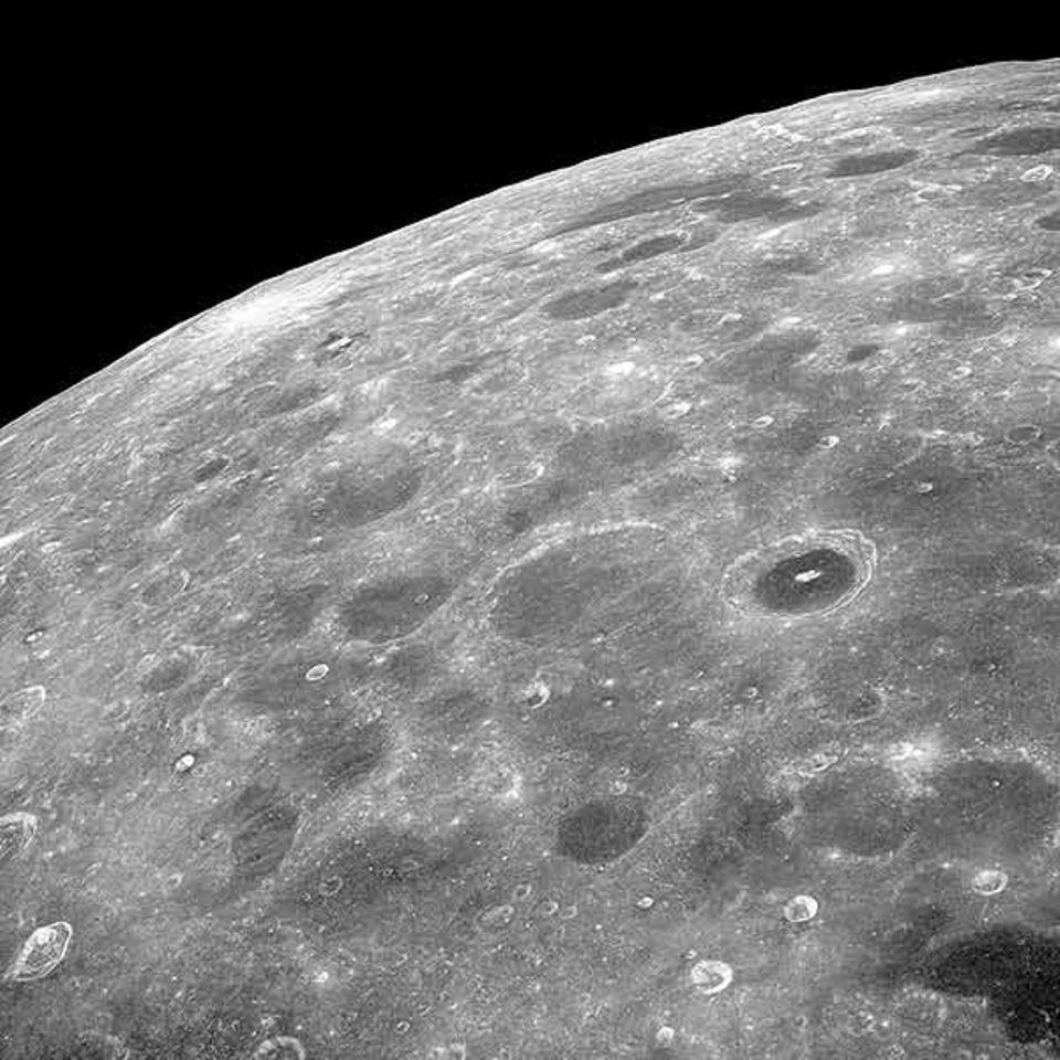 Astronomie: Die Besatzung Apollo 8 konnte zum ersten Mal die Rückseite des Mondes bewundern