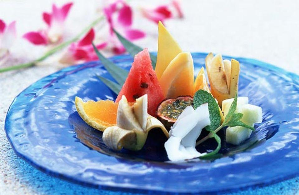 Frisches Obst - genauso gesund wie Vitaminpräparate? In unseren Foodmythen lesen Sie die Antworten auf Fragen rund ums Thema Essen