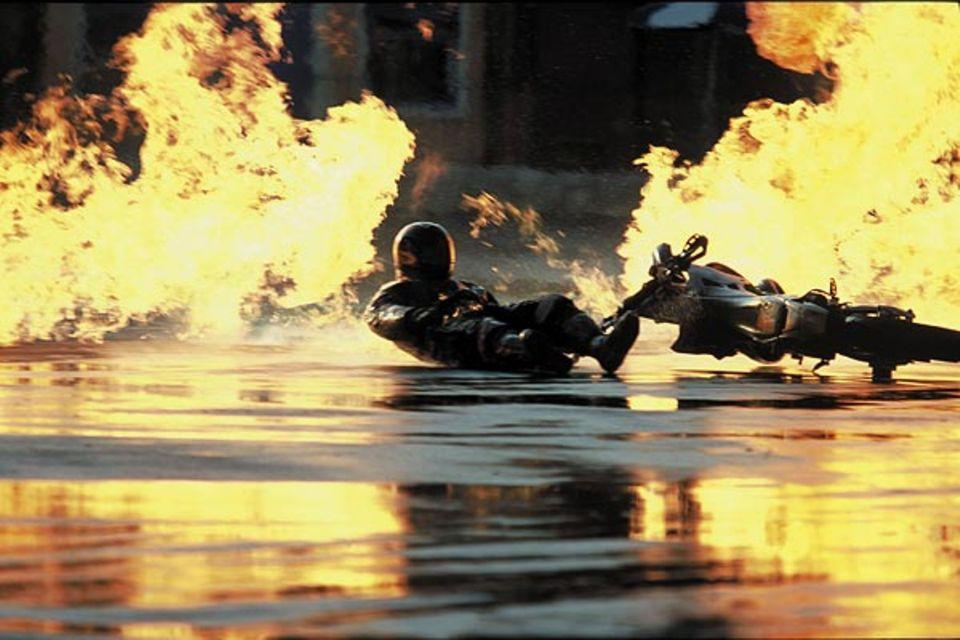 """Die Nummer """"Burning Man"""" ist der aufwändigste Stunt"""
