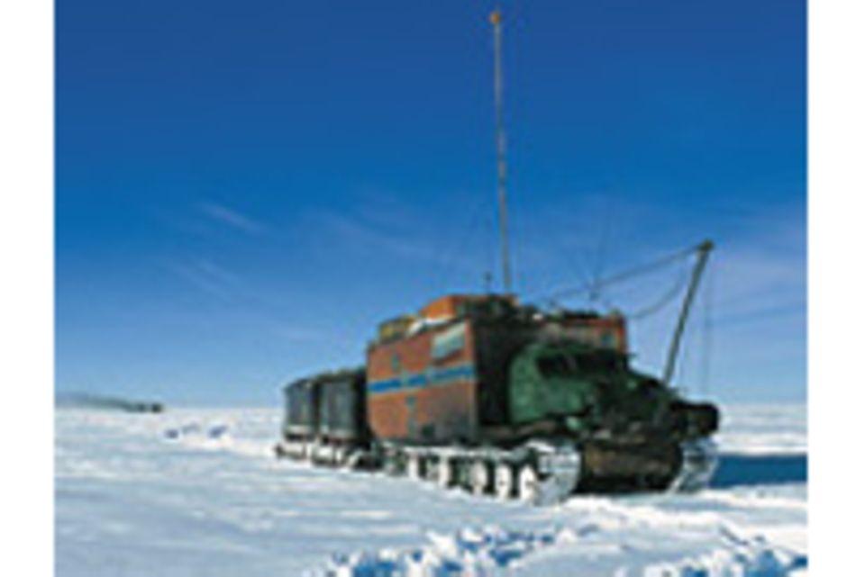 Antarktis: der Treck der Verwegenen