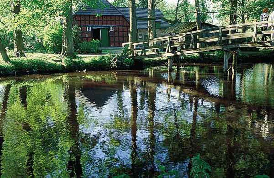 Nach Paulas Tod zog Otto Modersohn nach Fischerhude - und schuf hier einige seiner schönsten Landschaftsgemälde