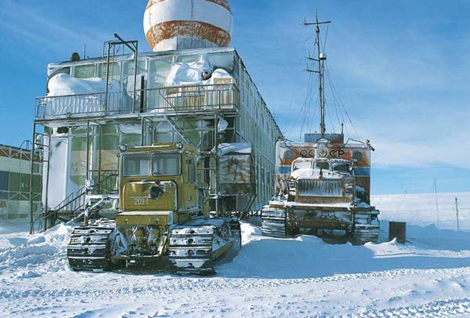 Mirny, das russische Quartier in der Antarktis