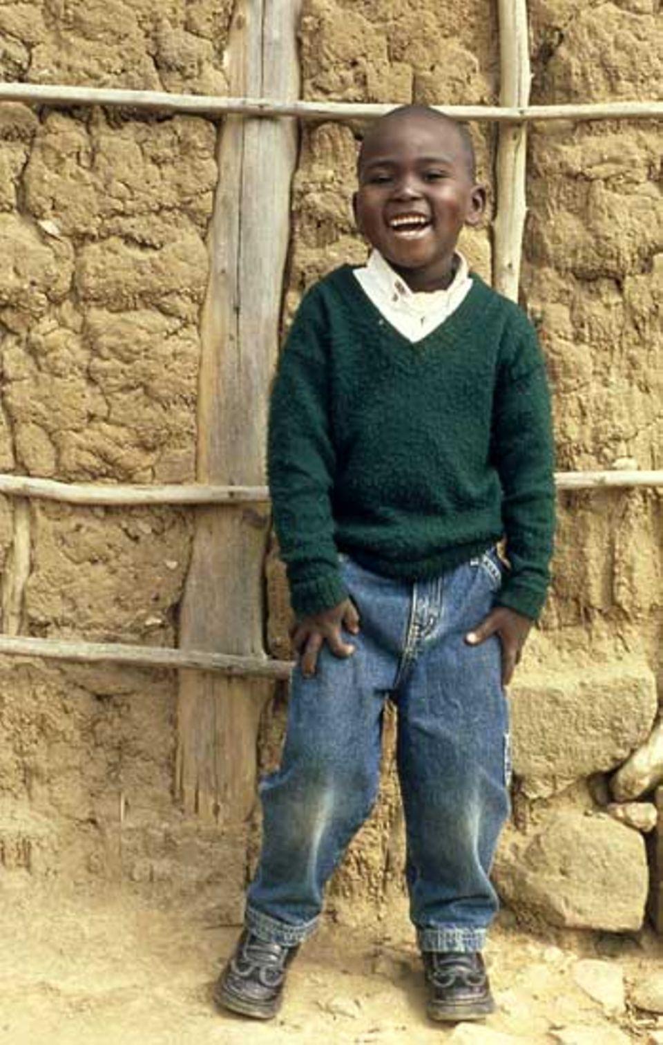 Francis Mutia David, geboren am 5. November 1998 in Musalala, Kenya