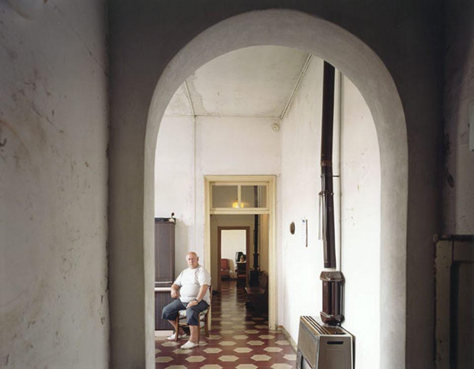 Alberto Garbizza wohnt seit 30 Jahren im ehemaligen Kloster San Pietro di Castello