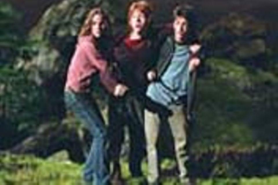 Harry Potter 3: Hinter den Kulissen beim Dreh