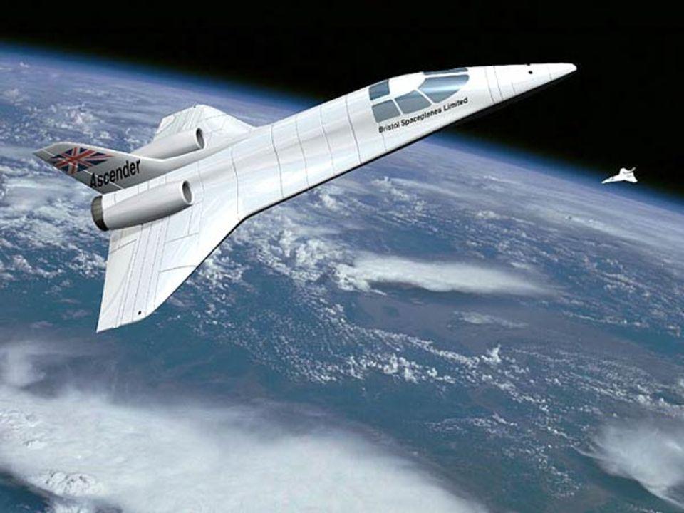 Kühner Entwurf aus England: Das Projekt der Bristol Spaceplanes Ltd.