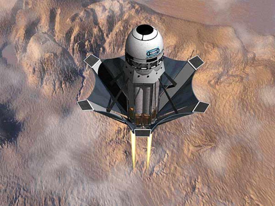 """Der Wiedereintritt der """"TGV Rockets Michelle-B"""" in die Erdatmosphäre"""