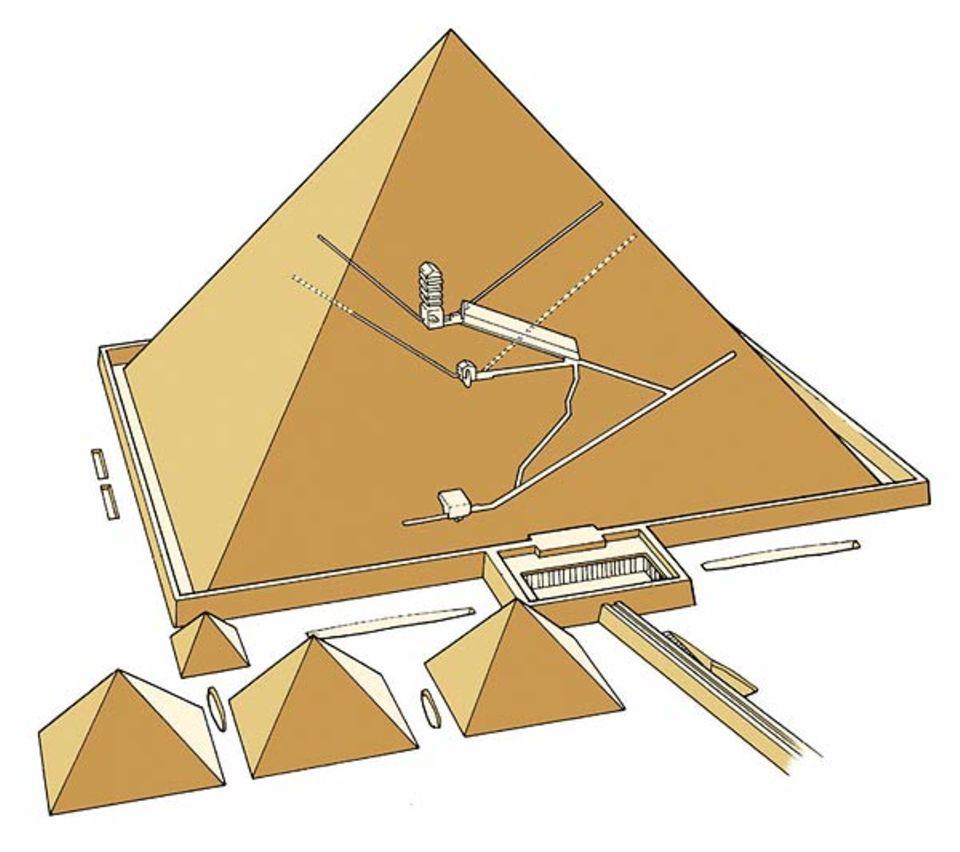 Ägypten: Die Cheops-Pyramide von innen